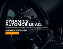 Dynamics Automobile - Redesign Website