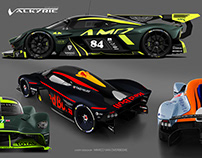 Aston Martin Valkyrie AMR Pro/Heritage Livery Concepts