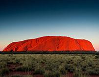 Uluru (Ayers Rock) Northern Territory, Australia.