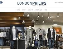 London Philips - Website Design