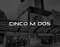 CincoMDos Website
