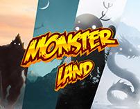 Monster Land Oscar Creativo