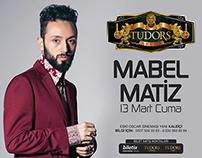 Tudors Arena | Mabel Matiz Konseri Poster Tasarımı