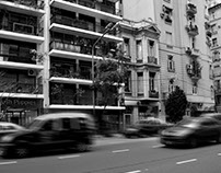 Buenos Aires in B/W