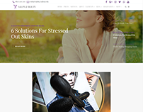 Posts Slider Blog - Salon WordPress Theme