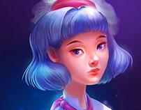 - Blue Girl -
