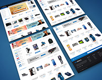 Web Template Big Deals Ecommerce