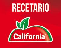 Recetario California Jugo 100%