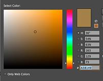 Color Codes for Creative Blitz Logo