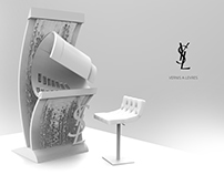 YSL Lipstick bar for vernis a levres