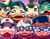 What The Duck Sticker Pack