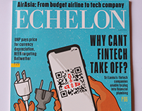 Echelon Magazine Cover: March 2018