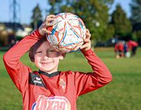 Portrait footballeur poussin