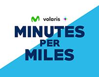 Minutes per Miles