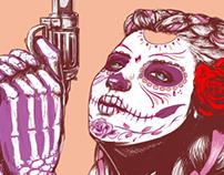 Sugar Skull (Dia De Los Muertos)