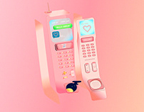 The Phone Call From Lover / Animation