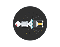 Fast illustration: Soviet satellite 2015