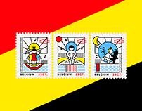 Postage stamps Belgium