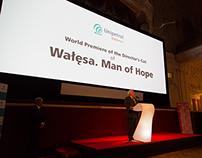 """Světovou premiéra filmu """"Walesa: Man of Hope"""""""