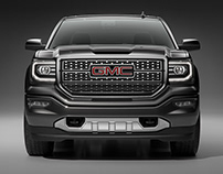 GMC Sierra - CGI & Photography & Retouching