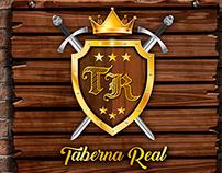 Criação de Marca - Taverna Real Lanchonete