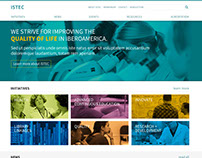 ISTEC main website & initiatives website *(2015)