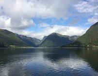 bergen van Noorwegen