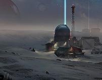 Snow planet