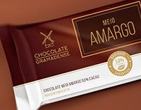 Chocolate Gramadense | Flowpack Bars Packaging Design