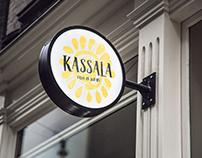 Kassala - Taste of Sudan (Sudanese Restaurant Branding)