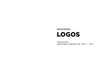MONOCHROME LOGOS identidad corporativa 2015 - 2017