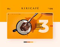 KIRICAFÉ - Web Design