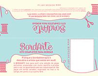 BordArte - embalagem para kit de bordado