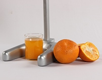 Model Making (Citrus Fruit Juicer)