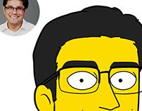 Simpson Style Portraits