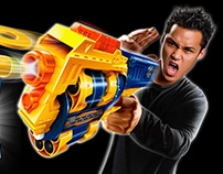 NERF GUN ILLUSTRATION