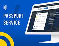 Design concept for Passport Service