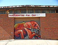 Red Bull - Falko painting stop motion + timelapses