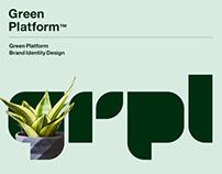 GRPL : Green Platform Brand Identity Design