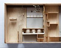Proyecto habitar: Casa en la horizontal