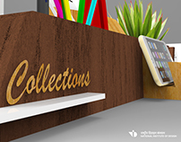 Collections- Table organizer