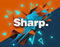 Sharp.