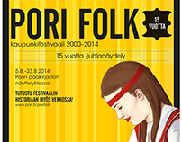 Pori Folk 15 years exhibition