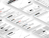 BT Sport wireframes, user journeys & sitemap
