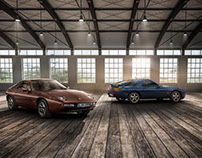 PORSCHE 928 1st and 2nd GENERATION