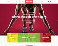 Top - Shoes eCommerce Theme