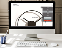 ERA: artful timepieces [web + ecommerce]