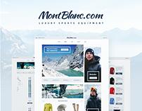 E-commerce project   Luxury sports equipment