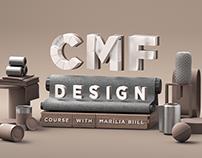 CMF Design Course Key Visuals