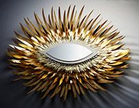 GUERLAIN // Golden Sculptures